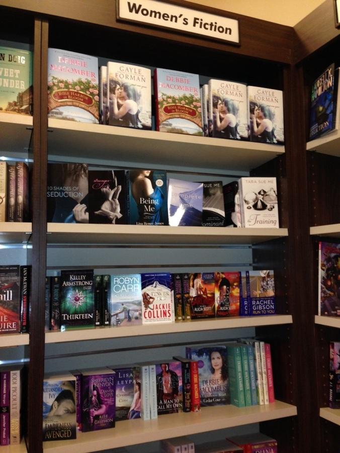 women's fiction airport